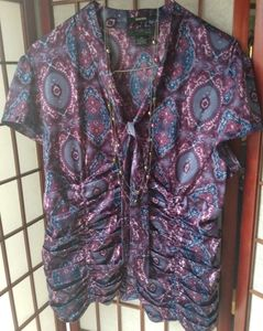 Style & Company Ruched Blouse